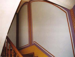 farbkonzept historische treppenhausgestaltung farbgestaltung baurestaurierung potsdam. Black Bedroom Furniture Sets. Home Design Ideas